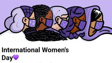 On International Women's Day 2021, Facebook Comes Up With Its Own Doodle Celebrating Womanhood, See Pics