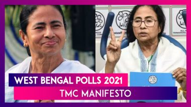 TMC Manifesto For West Bengal Polls 2021: Mamata Banerjee Promises Minimum Annual Income, Special Credit Card For Students