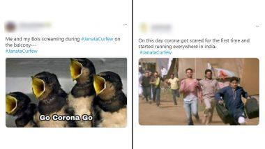 One Year of Janata Curfew: Twitterati Recalls 'Thaali Bajao' Hilarious Videos of Covidiots With 'Go Corona Go' Funny Memes and Jokes