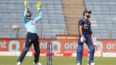 Virat Kohli is Adil Rashid's Bunny! Leg-Spinner Dismisses Indian Captain for 9th Time in International Cricket