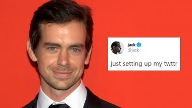 Twitter CEO Jack Dorsey's First Post 'just setting up my twttr' Up for Sale at Online Tweets Marketplace
