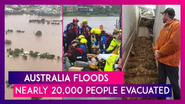 Australia's New South Wales Sees Once In A Century Rains, Nearly 20,000 People Evacuated