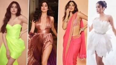Janhvi Kapoor Birthday Special: We Distinguish Her as Someone Who Believes in Making Exuberant Appearances (View Pics)