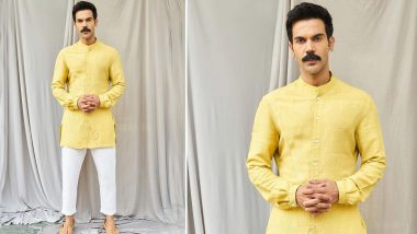 Rajkummar Rao's Yellow Panel Shirt for Roohi Promotions Can Be Yours at Rs 9900!