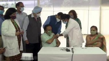 Harsh Vardhan Takes Second Dose of COVID-19 Vaccine