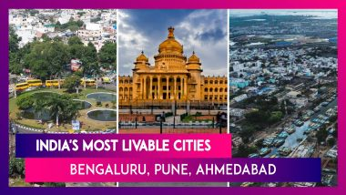 India's Most Livable Cities According To Govt's Ease Of Living: Bengaluru, Pune, Ahmedabad And Others