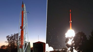ISRO Launches Sounding Rocket RH-560 to Study Attitudinal Variations in the Neutral Winds and Plasma Dynamics