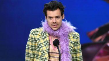 Grammys 2021: Harry Styles Wins Best Pop Solo Performance for 'Watermelon Sugar'