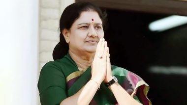 VK Sasikala Quits Politics, Jayalalithaa's Close Aide Quits Public Life Ahead of Tamil Nadu Assembly Elections 2021