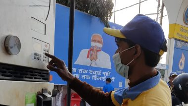 Assembly Elections 2021: ECI Directs Petrol Pumps to Remove Hoardings Carrying PM Narendra Modi's Photographs Within 72 hours