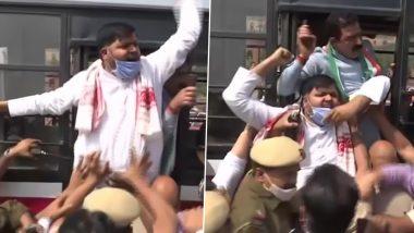 Farm Laws: Kisan Congress Holds Demonstration at Delhi's Vijay Chowk