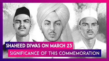 Shaheed Diwas On March 23rd: Significance Of The Day To Commemorate Death Anniversary Of Bhagat Singh, Sukhdev Thapar & Shivaram Rajguru