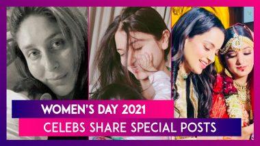 Women's Day 2021: Kareena Kapoor, Virat Kohli, Kangana Ranaut, Shilpa Shetty, Madhuri Dixit, Ananya Panday & Others Share Special Posts