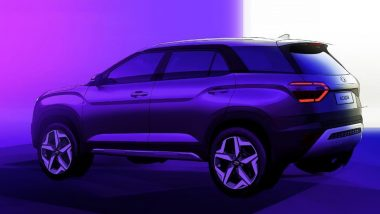 Hyundai Alcazar 7-Seater SUV Design Sketches Revealed; Likely To Be Launched Soon