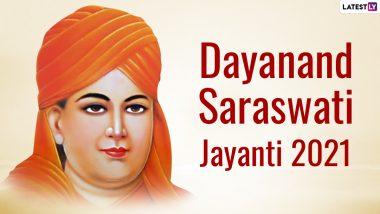 Dayanand Saraswati Jayanti 2021 Wishes & HD Images: WhatsApp Stickers, Facebook Messages, Signal Greetings & Telegram Quotes to Send on Maharishi Dayananda Saraswati's Birth Anniversary