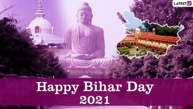 Bihar Diwas 2021 HD Images, Bihar Day Wallpapers for Free Download Online: Wish Happy Bihar Formation Day With WhatsApp Messages, Greetings, Quotes and Status