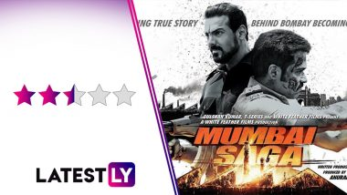 Mumbai Saga Movie Review: John Abraham and Emraan Hashmi's Face-Off Is The Only Saving Grace Of This Ordinary Outing!