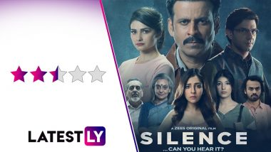Silence – Can You Hear It Movie Review: Manoj Bajpayee Takes the Charge in This Engaging if Predictable Murder Mystery (LatestLY Exclusive)