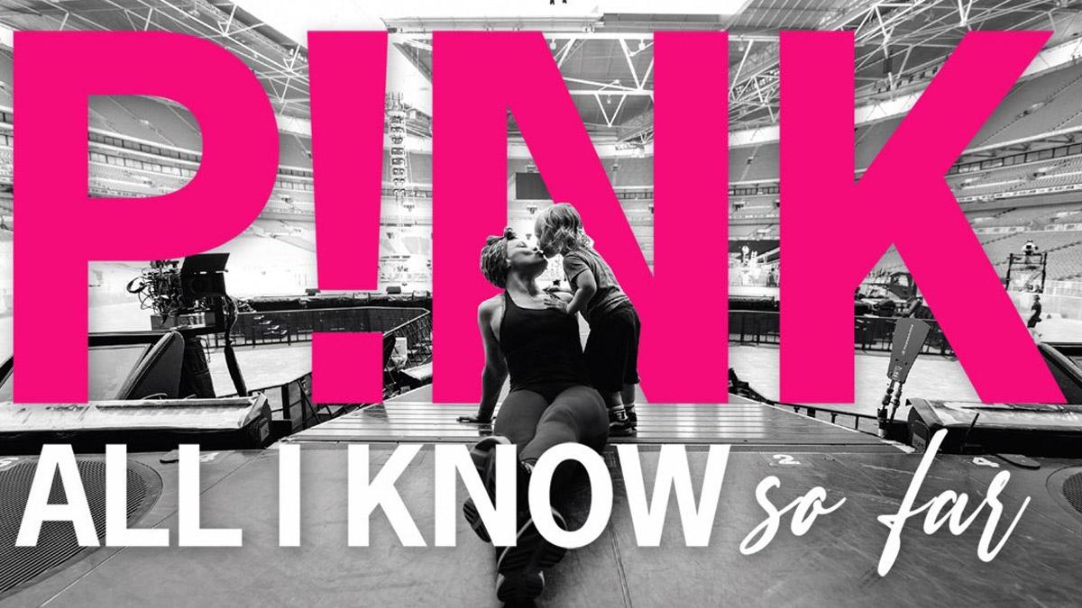 O documentário, infelizmente, não possui trailer - mas tem uma bela imagem promocional dos bastidores da turnê da cantora p! Ink.