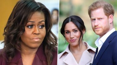 Michelle Obama Shares Her Thoughts on Meghan Markle, Prince Harry's Interview with Oprah Winfrey