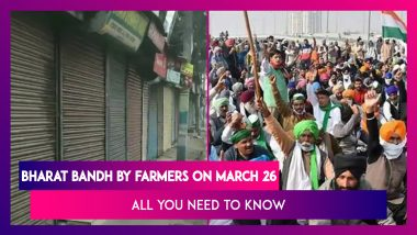 Bharat Bandh By Protesting Farmers On March 26, Traffic Likely To Be Hit; All You Need To Know