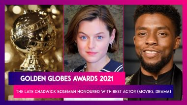 Golden Globes Awards 2021: Chadwick Boseman Honoured Posthumously, Schitt's Creek Wins Big