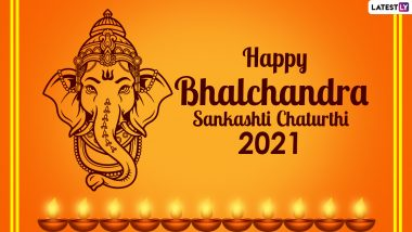 Bhalachandra Sankashti Chaturthi 2021 Wishes & Greetings: Send Ganpati Pics, Quotes, Signal Messages, Telegram Ganesh Images & Wallpapers on The Special Day
