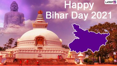 Bihar Diwas 2021 Messages and Wishes: Netizens Take Pride in Being Bihari & Celebrate the State's Foundation Day With HD Images of Famous Attractions
