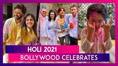 Holi 2021: Priyanka Chopra, Kangana Ranaut, Riteish Deshmukh & Genelia D'Souza, Soha Ali Khan Celebrate The Festival Of Colours