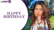 Janhvi Kapoor Birthday Special: From Roohi to Dostana 2, Every Upcoming Movie of the Gunjan Saxena Star