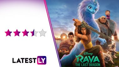 Raya and the Last Dragon Movie Review: Awkwafina's Sisu the Dragon Brings a Child-Like Innocence to This Gorgeous Animated Disney Flick (LatestLY Exclusive)