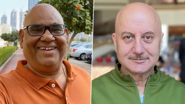 Satish Kaushik Tests Positive for COVID-19, Anupam Kher Sends Prays for His Health (View Tweet)