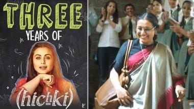 Hichki Completes 3 Years: Rani Mukerji Remembers Using Late Father's Walking Stick in the YRF Film