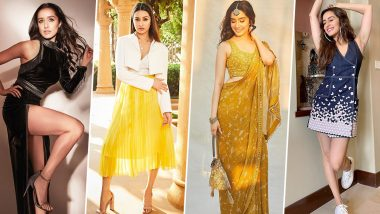 Shraddha Kapoor Birthday Special: Her Fashion Shenanigans Are Terrific, Charming and Always Radiant (View Pics)