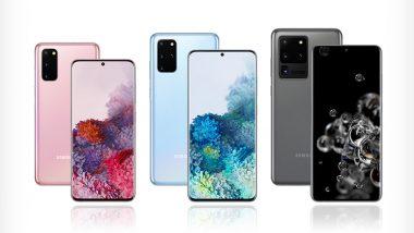 Samsung Galaxy S20 Lineup Gets Camera Improvement Update: Report