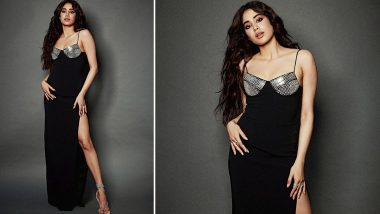 Yo or Hell No? Janhvi Kapoor's Stunning Black Dress by David Koma for Roohi Promotions