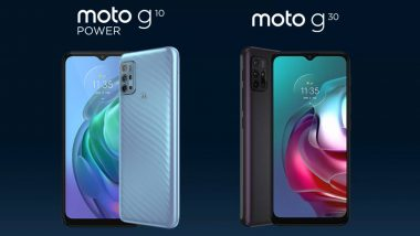 Motorola Moto G10 Power, Moto G30 To Be Launched in India on March 9, 2021