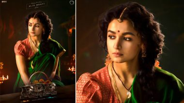 RRR: Alia Bhatt's First Look As Sita From SS Rajamouli's Magnum Opus Impresses Netizens!
