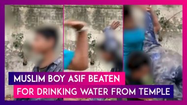 Muslim Boy Asif Beaten For Drinking Water From Temple, Perpetrator Shringi Yadav Arrested