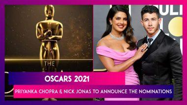Oscars 2021: Priyanka Chopra & Nick Jonas Will Announce The Nominations On March 15