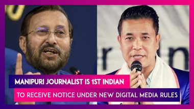 Manipuri Journalist Kishor Chandra Wangkhem Is 1st Indian To Receive Notice Under New Digital Media Rules, Notice Is Later Withdrawn