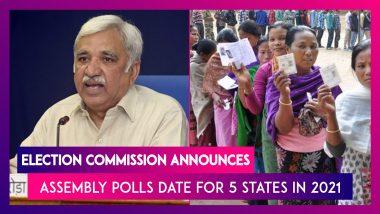 West Bengal, Assam, Kerala, Puducherry, Tamil Nadu Assembly Election 2021 Dates, Schedule Highlights