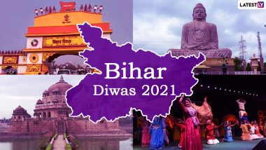 Happy Bihar Diwas 2021 Greetings and WhatsApp Stickers: Facebook Wishes, Telegram Messages and Signal HD Images to Send on the Bihar Foundation Day