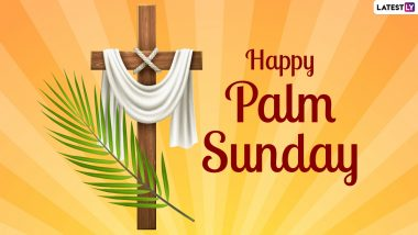 Holy Week Palm Sunday 2021 Images & HD Wallpapers for Free Download Online: Wish Happy Holy Sunday With WhatsApp Messages and GIF Greetings
