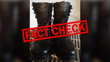 Indian Army Brought Rs 2,200 Made In India Shoes at Rs 25,000 from Israel Before Late Defence Minister Manohar Parrikar's Intervention? Here Is The Truth Behind Fake Message Going Viral on Social Media