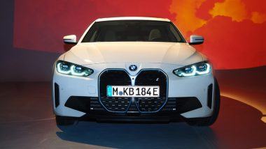 BMW i4 Electric Sedan Unveiled, To Be Launched Globally This Year