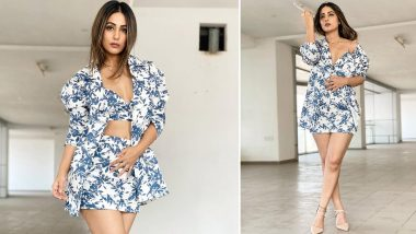 Hina Khan's Floral Co-Ord Set is the Recent Addition to Our Must-Have List (View Pics)
