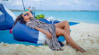 Priyanka Chopra Shares Throwback Pic from the Beach Dreaming of a Boat on an Island with Her Guy Nick Jonas