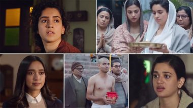 Pagglait Trailer: Sanya Malhotra Plays a Young Widow Who Can't Grieve in Netflix's Slice of Life Comedy