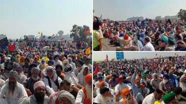 Farmers' Protest: Agitators Block KMP Expressway to Mark 100 Days of Unrest Against Farm Laws (Watch Video & Pictures)